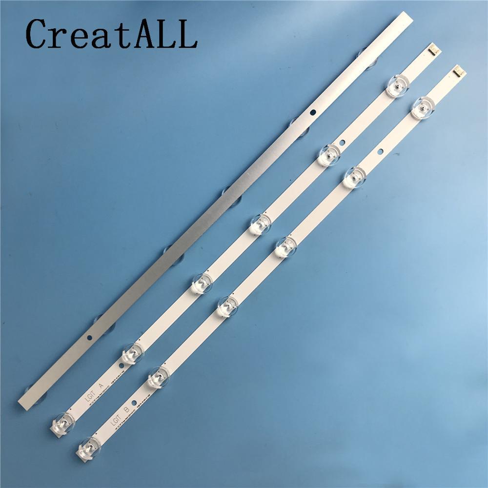 "LED backlight strip for LG 32""TV innotek drt 3.0 32 LGIT WOOREE A B  UOT 32MB27VQ 32LB5610 32LB552B 32LF5610 lg32lf560ubacklightbacklight led  -"
