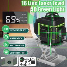Laser-Level 16-Lines Cross-Ful Green Vertical 360-Horizontal And
