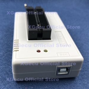 Image 4 - Black socket V10.27 XGecu TL866II Plus USB Programmer support 15000+IC SPI Flash NAND EEPROM MCU replace TL866A TL866CS+26 parts