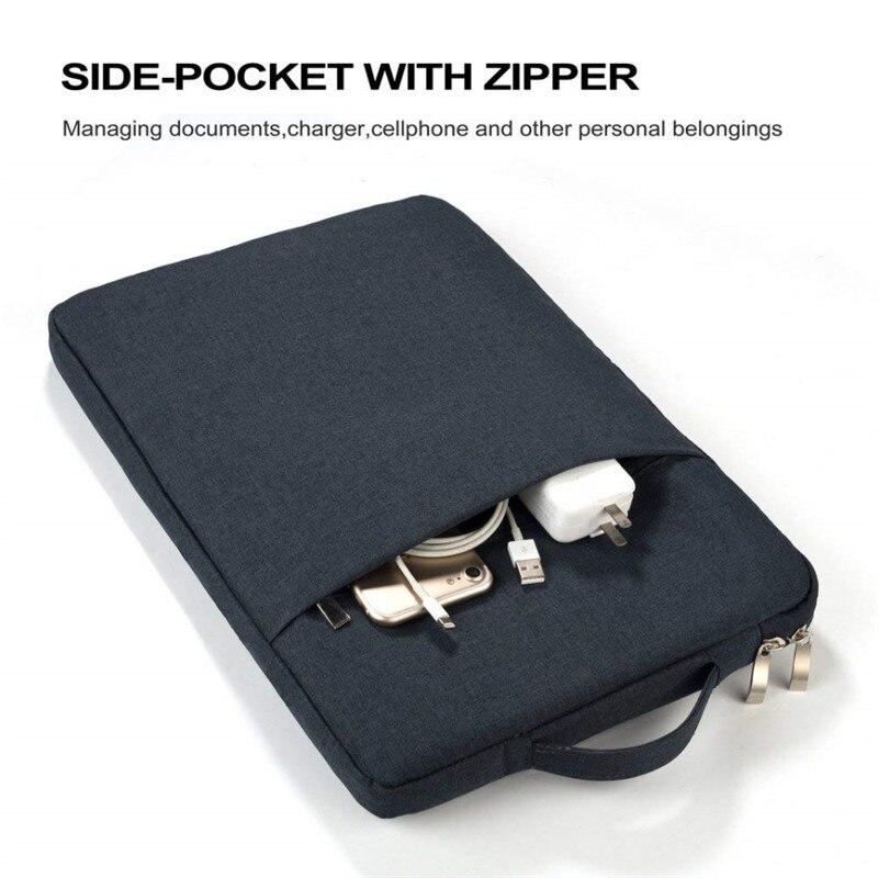 Nylonowa torba na laptopa etui na asus VivoBook Flip 15 ROG Zephyrus S Strix SCAR 15 torba na zamek błyskawiczny rękaw VivoBook K570UD 15.6 S okładka