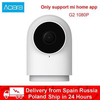 Aqara Smart Camera G2 with Gateway Hub IP Wifi Wireless Zigbee 1080P HD View 140 Degrees Voice For Xiaomi Mijia Smart Mi Home