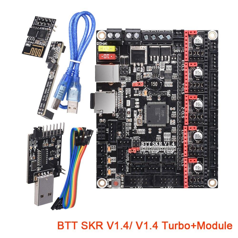 BIGTREETECH SKR V1.4 турбо 32 бит плата управления Комплект ESP01 WIFI модуль DCDC режим расширения 3D принтер части SKR V1.3 TMC2208 UART