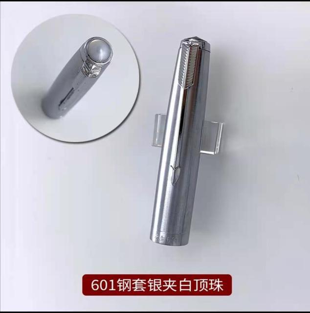 1Pc bouchon en acier blanc perle pour aile Sung 601 stylo plume encre stylo papeterie bureau fournitures scolaires