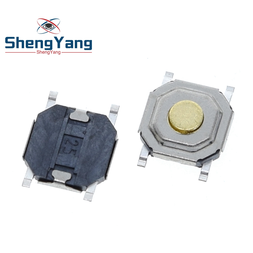 120pcs 4x4x1.5mm-5mm Waterproof SMD SMT Micro Momentary Tact Push Button Switch