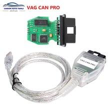 VAG CAN PRO-escáner de diagnóstico V5.5.1, Cable CAN BUS + UDS + k-line VCP, 5.5.5.1, mejor que ODIS, Envío Gratis
