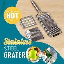 Multi-purpose vegetal slicer ralador cortador de aço inoxidável shredders frutas batata descascador cenoura ralador acessórios de cozinha