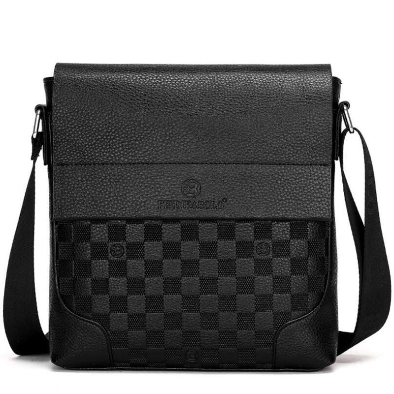 New Collection Fashion Men Bags Male Leather Messenger Bags Man Travel Business Crossbody Shoulder Bag Men's Handbag