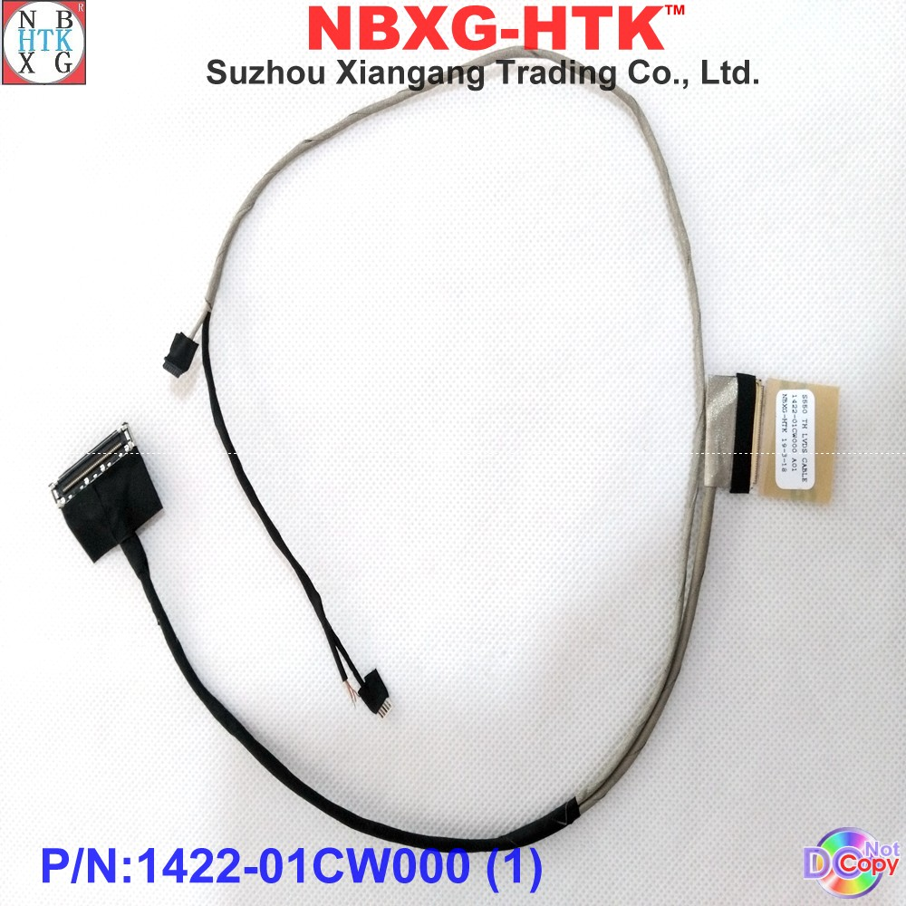 Computer Cables Laptop Cable for Lenovo IdeaPad 110-14IBR 110-14 30Pin AINP2 PN:DC02C009B00 Repair Notebook LCD LVDS Cable Cable Length: As Photo Show