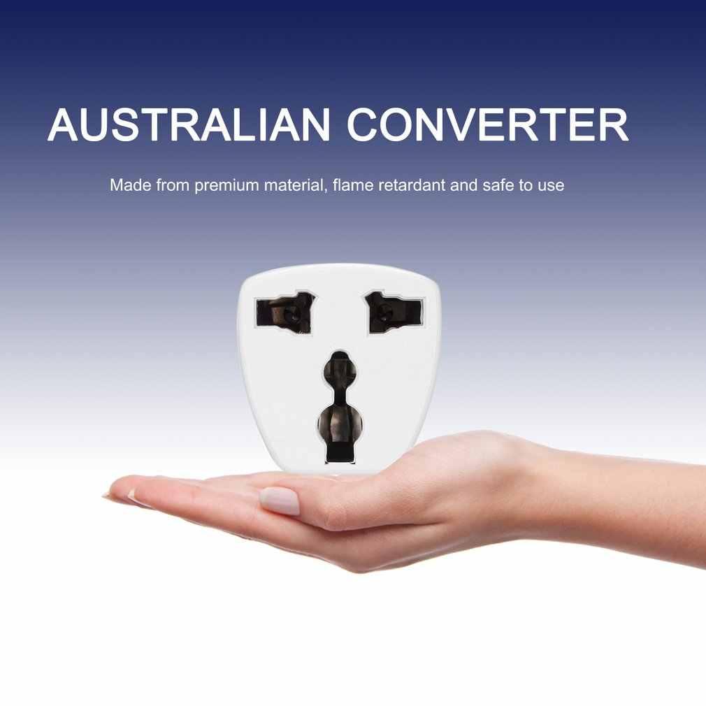 Uniwersalny AU wielka brytania USA do ue konwerter adaptera wtyczki stany zjednoczone australijski do Euro europejskiej AC Travel Adapter gniazdo zasilania gniazdko elektryczne wylot