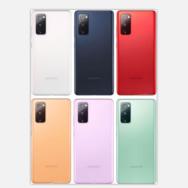 "Original Samsung Galaxy S20FE 5G G781U1【98% New】Unlocked Cell Phones 6GB RAM 128GB ROM 6.5"" Snapdragon NFC Octa Core 2"