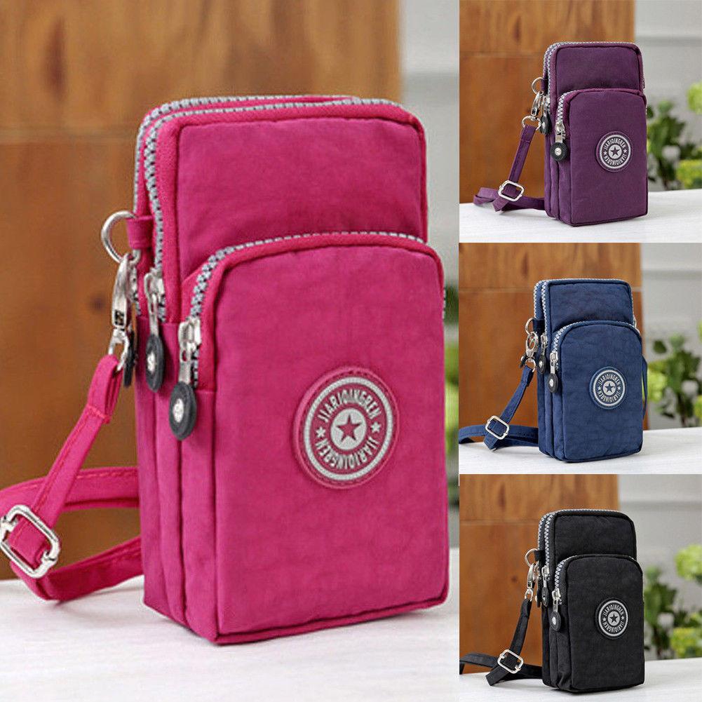 Sports Wallet Purse Pouch Case Mobile-Shoulder-Bag Small Handbag New for Belt Retro