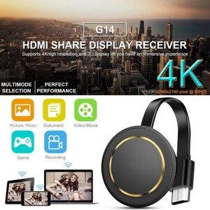 ТВ палка 2,4G/5G беспроводной экран проектор 4K беспроводной WiFi дисплей ключ приемник для Airplay HDMI Google Cast Youtube Google