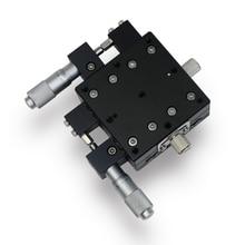 XY60L-30 High-precision Fine-tuning Platform XY Axis Sliding Stage 60*60mm