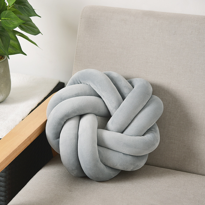 Mylb Ball Cushion Dolls Decor Throw-Pillow Sofa-Bed Creative Kids Knotted Home for Adult title=