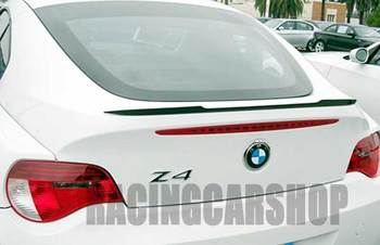 REAL CARBON FIBER TRUNK LIP SPOILER fit for BMW Z4 E86 E85 Z4 M COUPE 2003-2008 B150 1