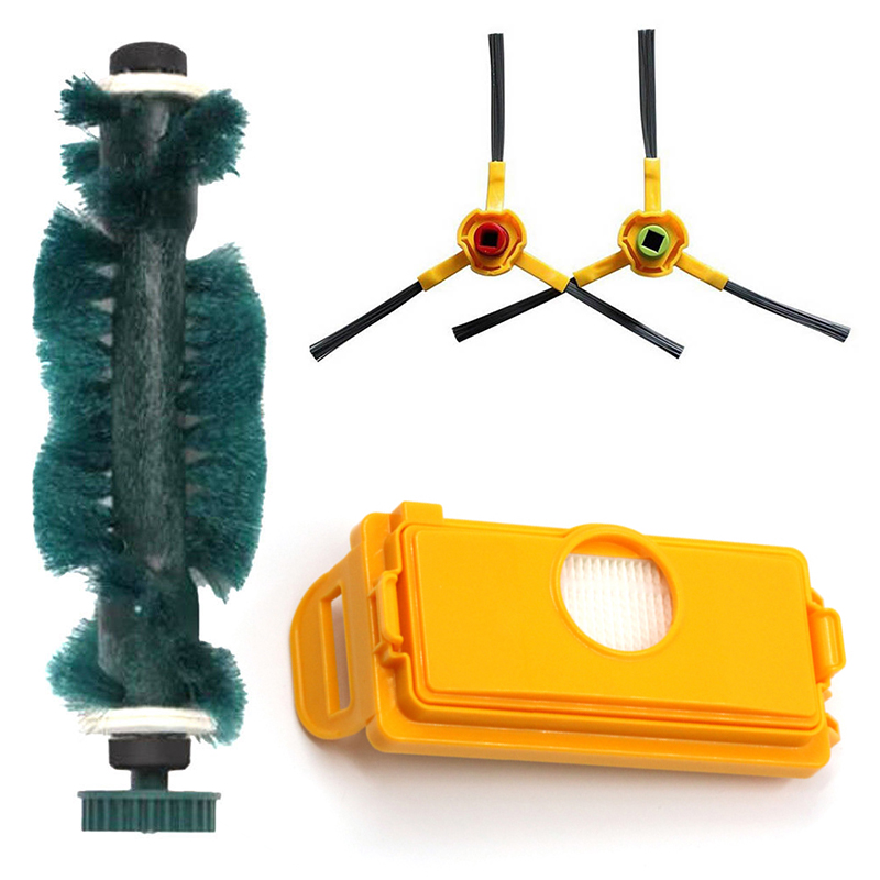 Dust Box Filter Brush Suitable For Ecovacs Deebot Deepoo D73 D76 D77 Sweeper Kit Vacuum Cleaning Tool