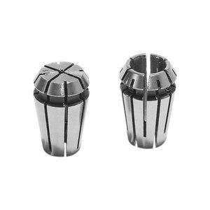 """Image 5 - 15Pcs/Set 1 7mm ER11 Milling Chuck +1 1/4"""" ER11 Milling Chuck Spring Collet Set For CNC Engraving Machine & Milling Lathe Tool"""