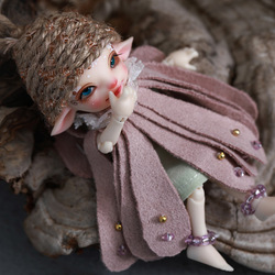 Shuga Fairy Realpuki Pano Doll 1/13 BJD Girls Boys YOSD Ball Jointed Doll Resin Toys for Kids Elf Ear Doll Fairy Cute Baby Doll