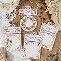 Блокноты Mr. Бумажные  4 вида конструкций  вышивка  свободный лист  каваи  оригинальные  творческие  для ноутбука  багажа  для празднования  Рож...