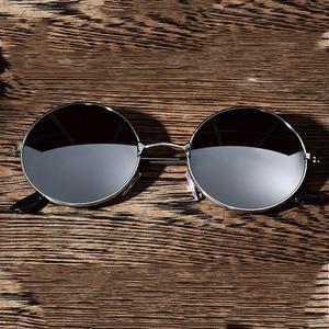 Retro Classic Round Polarized Sunglasses Car Driving Outdoor Sports Men Women Sun Glasses Women Metal Frame Lens Eyewear