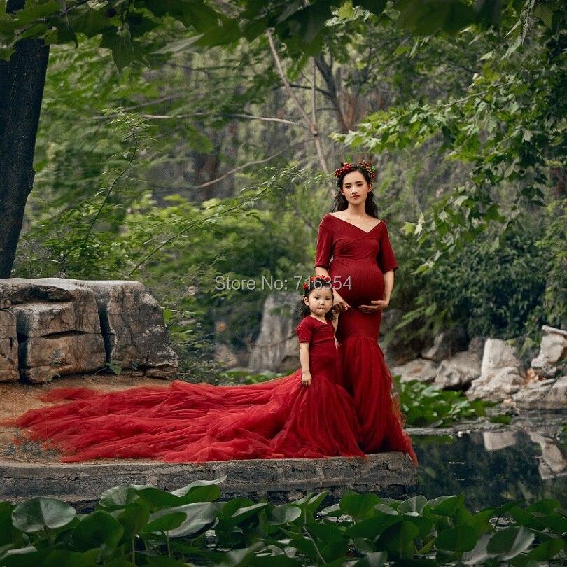 Новые модные длинные платья для будущих мам для фотосессии Одежда для беременных платье для мамы длинное платье для беременных фотография