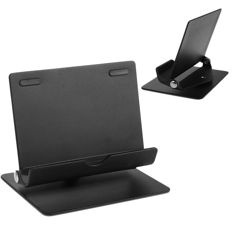 360 Degree Rotating Aluminum Desktop Mount Stand Holder For iPad Mobile Phone Tablet Support