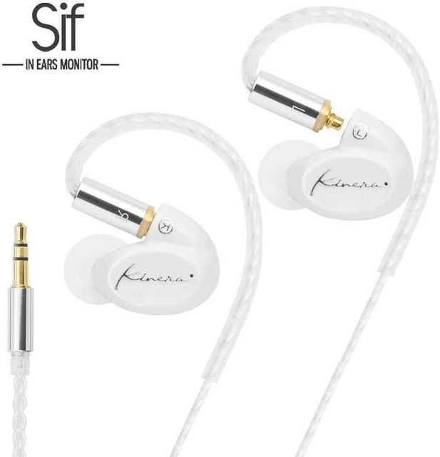Kinera SIF Dynamic Driver In Ear Earphones Earbud HIFI DJ Monitor Earphone Running Sport Earplug Headset With MMCX Cable 2