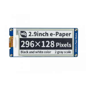 Image 1 - Waveshare Módulo de pantalla e ink de 2,9 pulgadas, papel electrónico de tres colores rojo/Negro/Blanco, Compatible con actualización parcial, Compatible con Raspberry