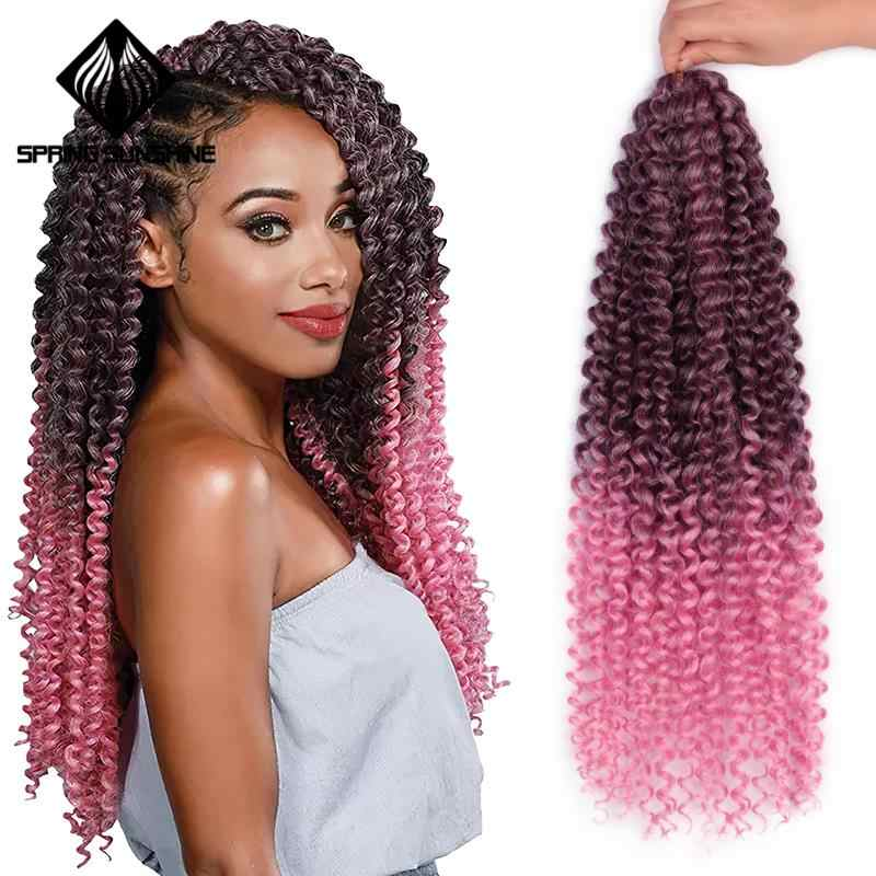 18inch Passion Twist Hair Synthetic Kinky Twist Ombre
