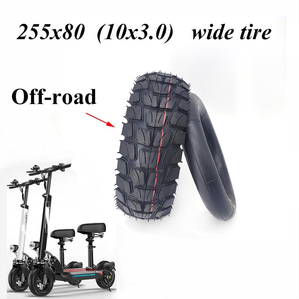 Электрическая шина для скутера 255x80 10x3,0, утолщенная и Расширенная внутренняя и внешняя шина для скорости Grace 10 Zero 10x KuGoo M4