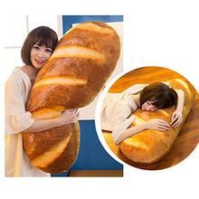 Подушка плюшевая для украшения еды масло хлеб мясо кунжут пицца