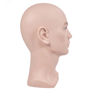 Image 3 - mannequin display model head stand with shoulder wig support styrofoam manikin head