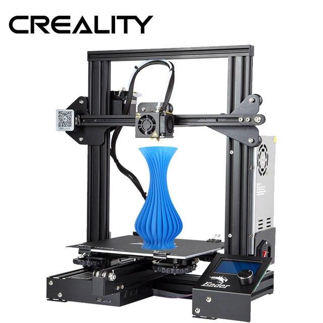 Ender 3 Creality 3D printer V slot prusa I3 Kit Hervatten Stroomuitval Printer 3D DIY KIT 110C voor Broeinest