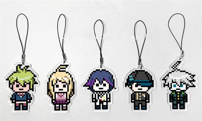 Danganronpa V3 Killing Harmony Kokichi Oma Acrylic Keychain Keyring