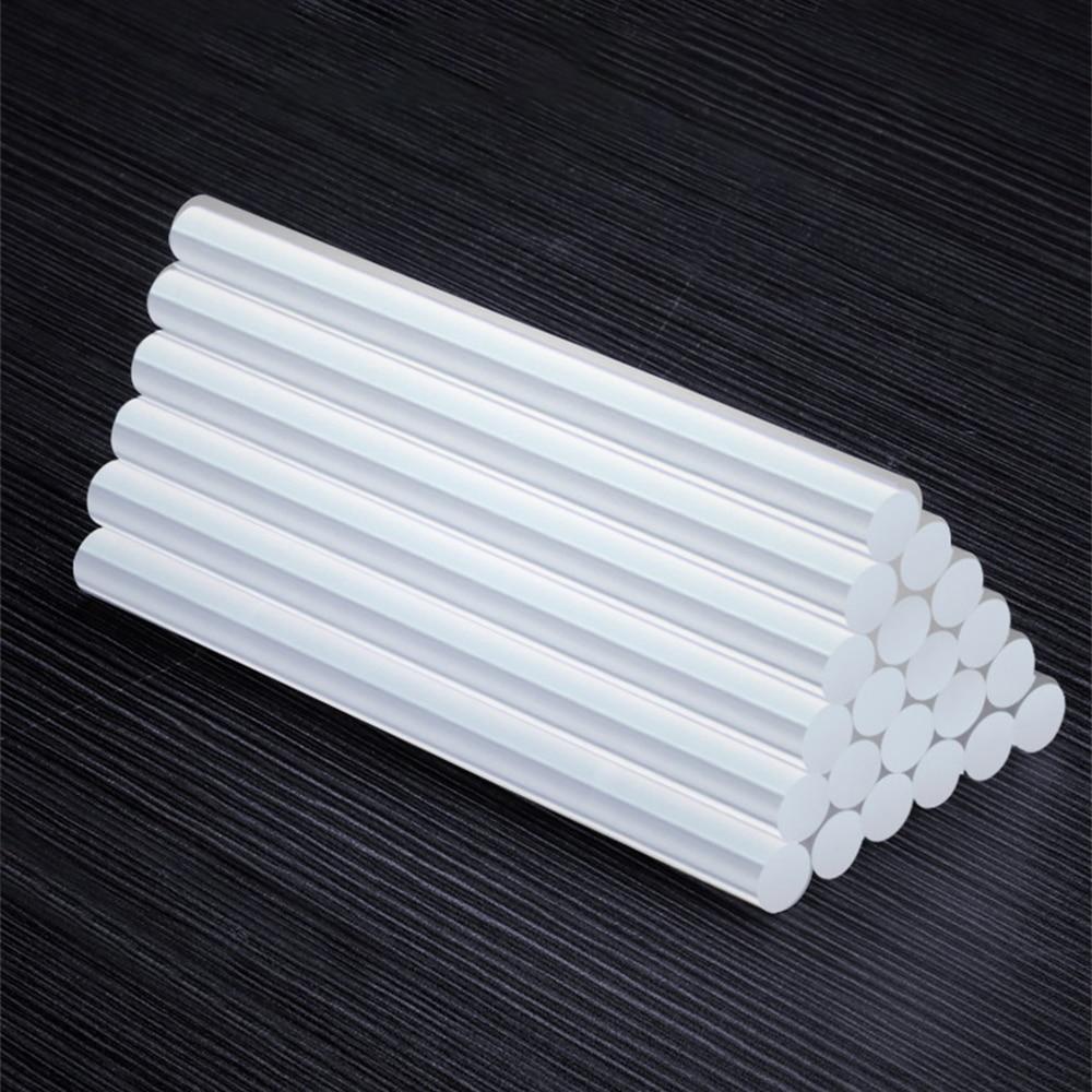 10/50 шт., прозрачные силиконовые клеевые палочки 11 мм 7 мм