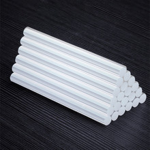 10/50 قطع الغراء الساخن شفافة 11 مللي متر 7 مللي متر عصا لصق سيليكون عالية اللزوجة تعزيز الحساسية