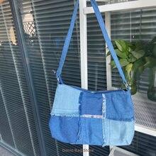Контрастный цвет женские маленькие сумки на плечо винтажные