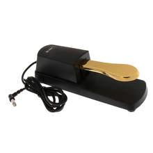 Piano Damper Sustain Pedal 6.35mm Plug for Digital Piano Electronic Keyboards Sy