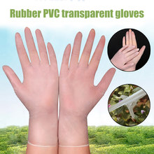 100PCS Disposable PVC Gloves for Factory Catering Nail Salon Inspection Home Office Work Outdoor Cycling Travel Fishing Gloves(China)