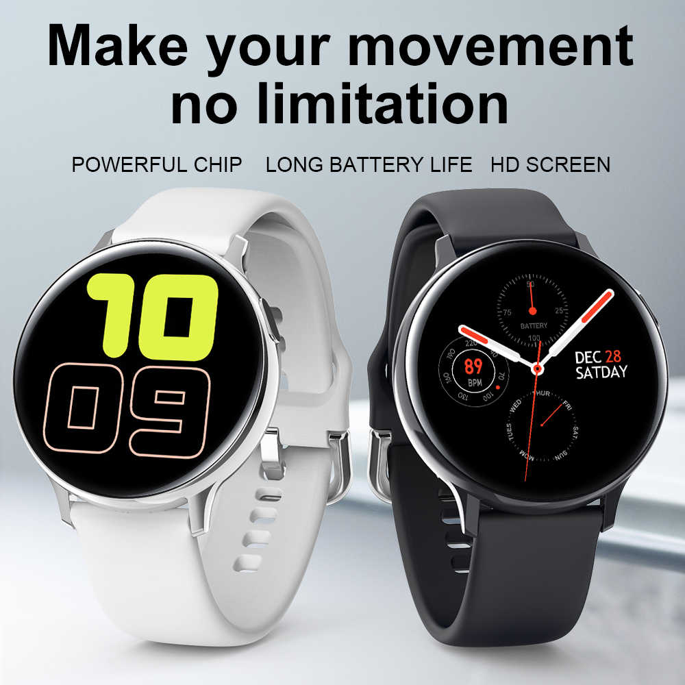 Montre intelligente Android montre intelligente hommes femmes Smartwatch Reloj Inteligente Smartwatch Android pour Samsung Galaxy montre Active 2 SG2