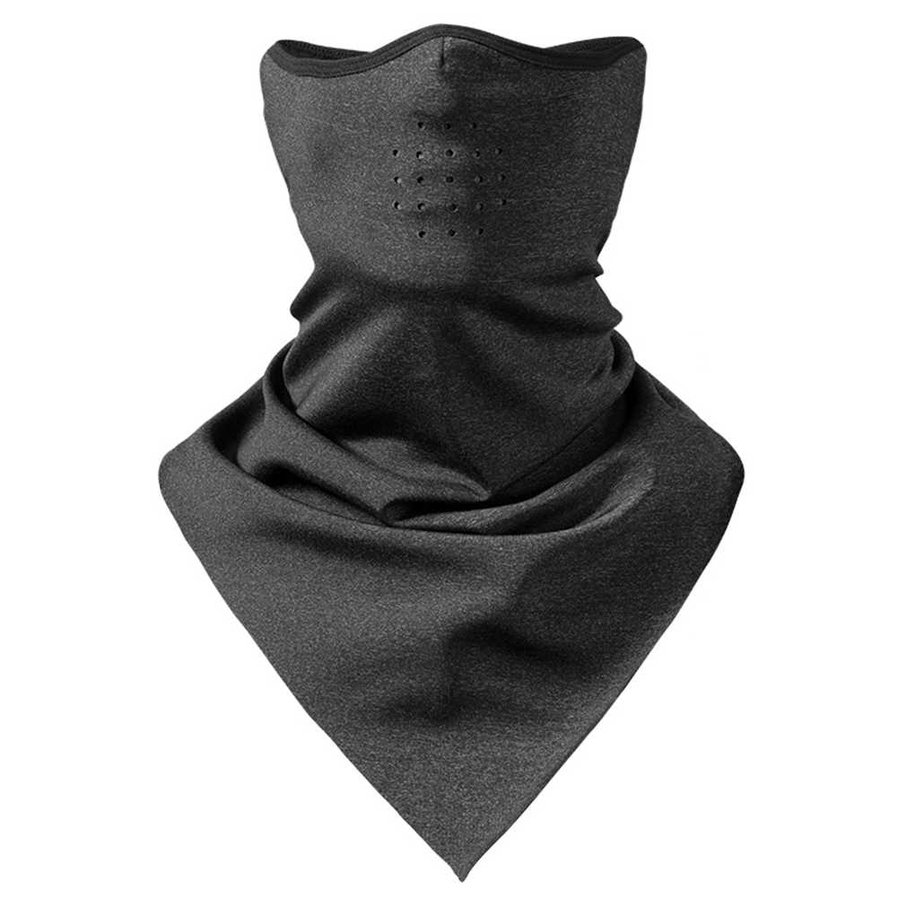 Neck Warmer Outdoor Riding Scarf Professional Mask Sports Cycling Anti Dust Bike Snowboard Windproof Skiing Durable Milk Silk