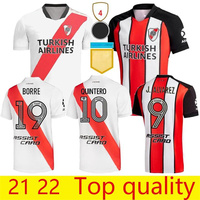Camiseta De 21 a 22 River Plate para hombre, ropa para casa, 2021, Atlético, River Plate, Ninja De La Cruz, Borre, Alva, 2022