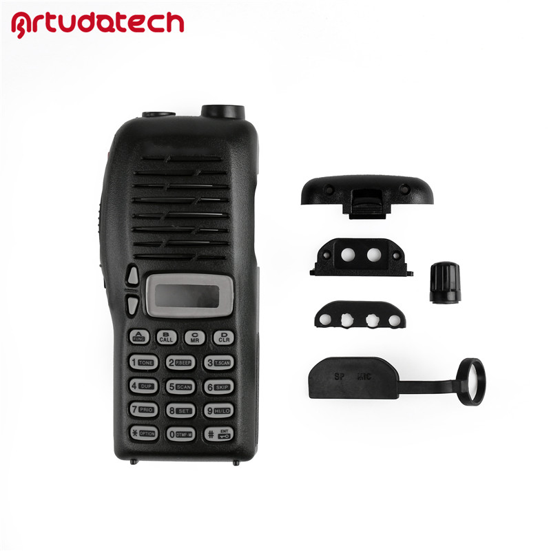 Artudatech 1x Replacement Front Outer Case Housing Cover Shell For Icom IC-V8 IC V8 ICV8 Radio