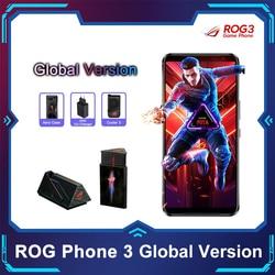 ASUS ROG Phone 3 глобальная версия 5G смартфон Snapdragon865plus 256/512ROM 6000 мА/ч, OTA Update Android Q игровой телефон ROG 3