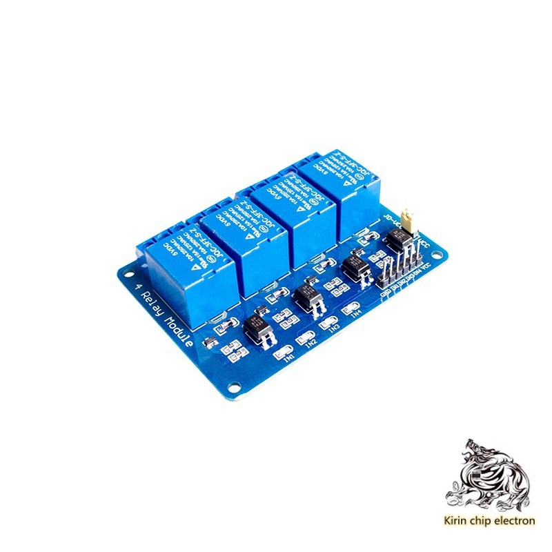5PCS/LOT 4 Relay Extension 5V Strip Optocoupling Isolation Support AVR/51/PIC Single Chip Microcomputer Four Channels