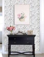 0.45*6 متر الأزهار للجدران الأثاث الفينيل ورق حائط ذاتي اللصق للفندق غرفة المعيشة الحمام غرفة نوم ديكور المنزل