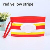 red yellow stripe
