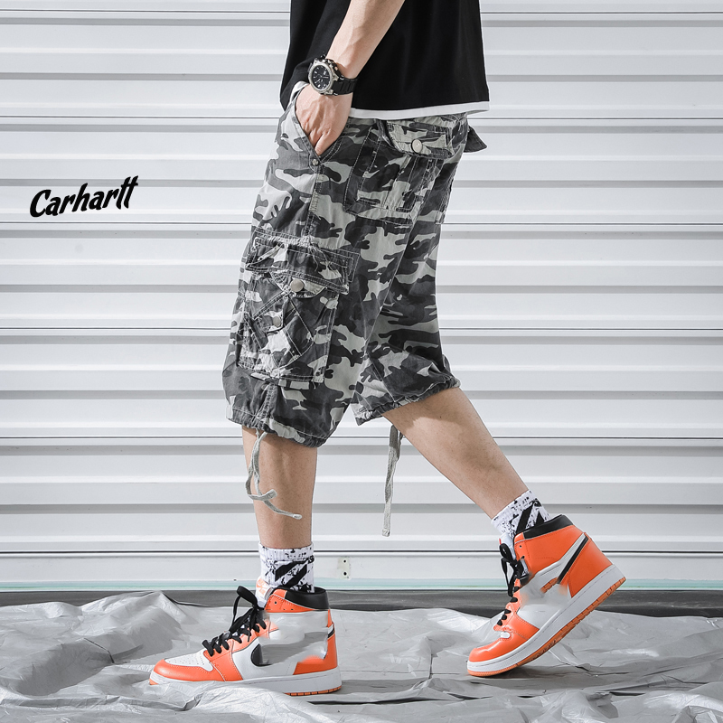 Men S Military Cargo Shorts 2019 Brand New Army Print Tactical Camouflage Men Cotton Loose Work Casual Short Pants