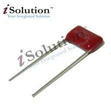 50 pces 630v223j 22nf passo 10mm 223 630 v 0.022 uf cbb capacitor de filme de polipropileno