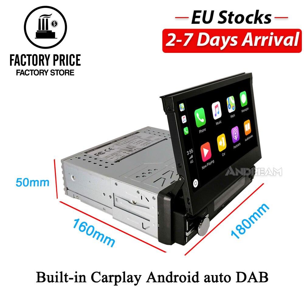 Автомобильный мультимедийный плеер 1 Din, встроенная система на Android, для Nissan, Skoda, Fabia, Praktic, Volkswagen, POLO, Golf, 7 дюймов